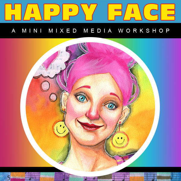 Happy Face Mini Art Workshop