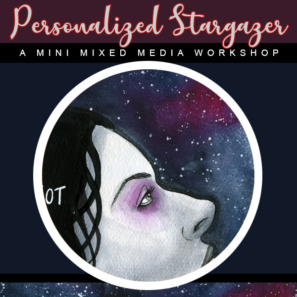 Personal Stargazer Mini Art Workshop